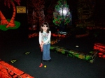 "She puts the ""mini"" in mini-golf :-)"