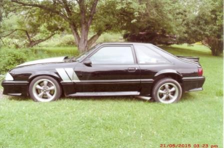 1990 Mustang Holmes