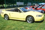 Dwight and Mary's 2001 Mustang Convertible