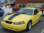 Ed and Claudia's 2003 Mustang Mach I