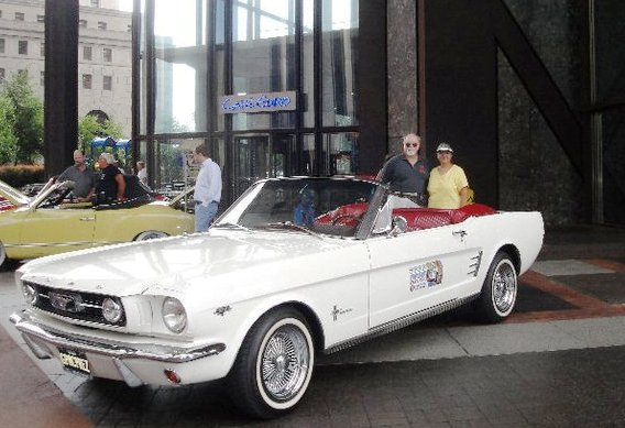 Ken and Jennie's 1966 Mustang Convertible