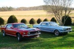 Ron and Alice's 1966 GT Convertible and 1969 Mach 1