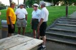 Ernie, Mark, Ken & Mark discuss the Patron Parking event at the upcoming Pgh Vintage Grand Prix