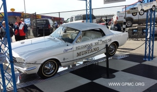 First Mustang Indy 500 Pace Car