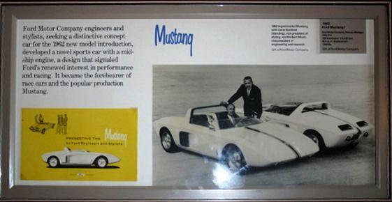 Prototype Mustang 1962 View 3