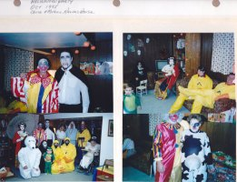 Oct. 1995: Halloween Party; Chuck & Michelle Kalish's House