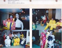 Oct. 1995: Halloween Party; Chuck & Michelle Kalish's House