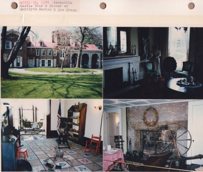 April 30, 1989: Nemacolin Castle Tour & Dinner at Smitty's Marina & Ice Cream