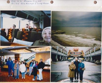 Feb. 14, 1991: Atlantic City NJ Bus trip, Auto Auction & Swap Meet.