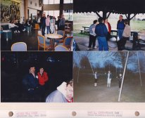 Left: April 24 '88; Station Square Car Show. Right: May 4 '88 First Outdoor Meeting; North Park