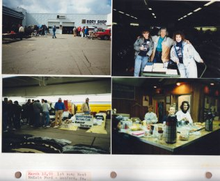 March 18, 1990: 1st Swap Meet; McKain Ford, Wexford PA