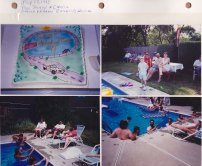 July 17, 1993: Pool Party & Cruise; Harold & Karen Borgen's House