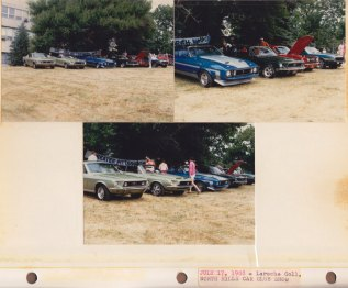 July 17, 1988: LaRoche College; North Hills Historic Auto Club Car Show