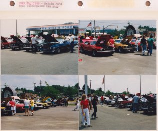 July 24, 1988: McKain Ford; Ford Proformance Car Show
