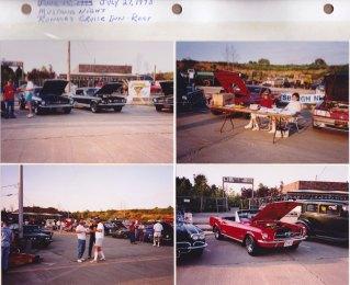 July 27, 1993: Mustang Night; Ronnie's Cruise Inn
