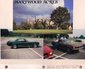 Sept. 13, 1987: Hartwood Acres Tour; Saxonburg Blvd.; Saxonburg PA