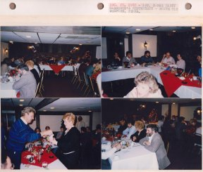 Dec. 20, 1987: 1st XMAS Party; Carmody's Restaurant; Route 910, Wexford PA