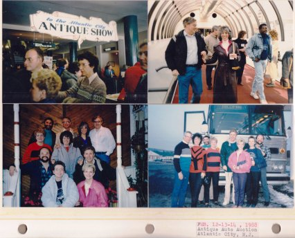 Feb 12-14, 1988: Antique Auto Auction; Atlantic City, NJ