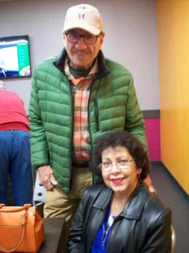 Welcome new members Bob and Muriel!