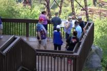 Tim, Danielle, Phyllis, Bob, ValJean & Bill on lookout deck