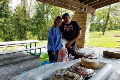 Barb and Al, organizers/cooks