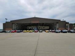 Hangar view