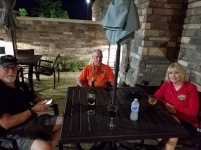 Horners and Mark Mulkey on Patio